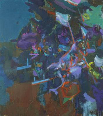 Höhere Ordnung, 2019, Öl auf Leinwand, 180 x 160 cm