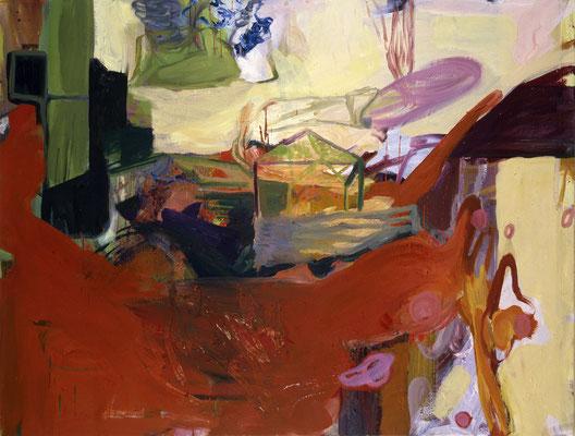 Das Haus-5, 2003, Öl auf Leinwand, 125 x 165 cm