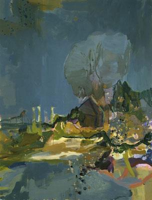 Ultima Thule, 2004, Öl auf Leinwand, 165 x 125 cm
