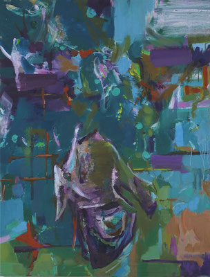 Kean-2, 2019, Öl auf Leinwand, 130 x 100 cm