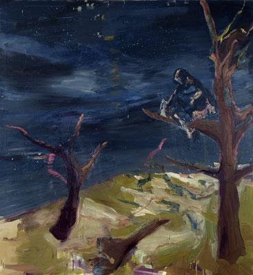 Taxham, 2006, Öl auf Leinwand, 180 x 165 cm