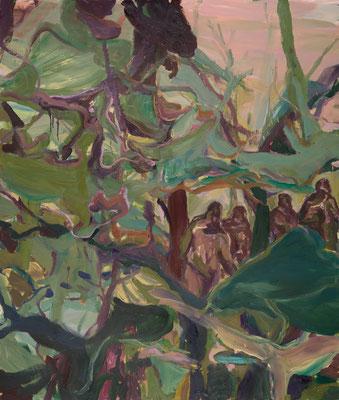 Expedition, 2006, Öl auf Leinwand, 200 x 170 cm