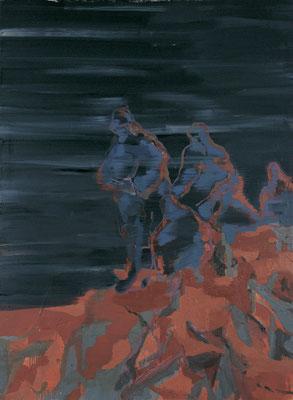 Vermessung-3, 2008, Öl auf Leinwand, 170 x 125 cm
