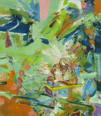 Die Heiligen-1, 2018, Öl auf Leinwand, 170 x 150 cm