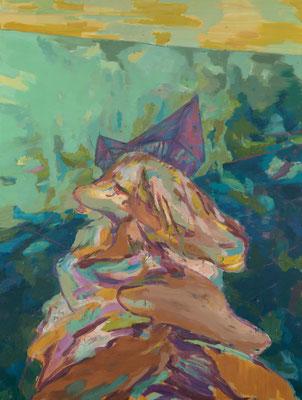 Masterstone, 2009, Öl auf Leinwand, 200 x 150 cm
