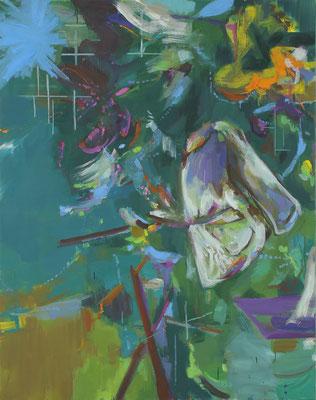 Kean-1, 2019, Öl auf Leinwand, 140 x 110 cm