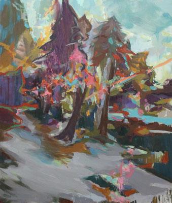 Wald, 2012, Öl auf Leinwand, 200 x 170 cm