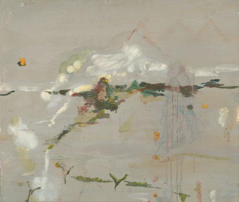 Ohne Titel, 2006, Öl auf Leinwand, 60 x 70 cm