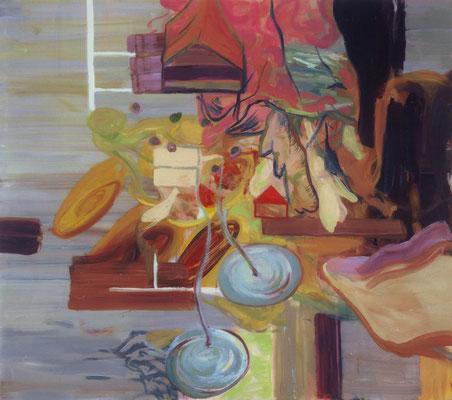 Das Haus-7, 2003, Öl auf Leinwand, 160 x 180 cm