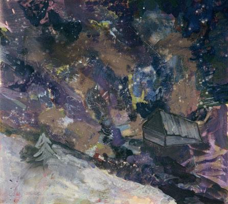Fernab-1, 2005, Öl auf Leinwand, 135 x 150 cm