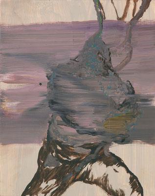 Eroberer-2, 2008, Öl auf Leinwand, 30 x 24 cm