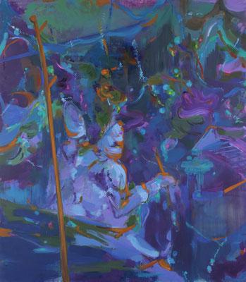 Early sound-1, Öl auf Leinwand, 230 x 200 cm