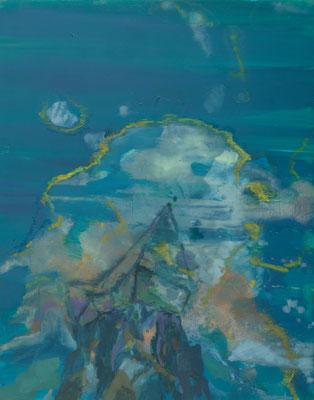 Höher gelegen-1, 2009, Öl auf Leinwand, 100 x 80 cm
