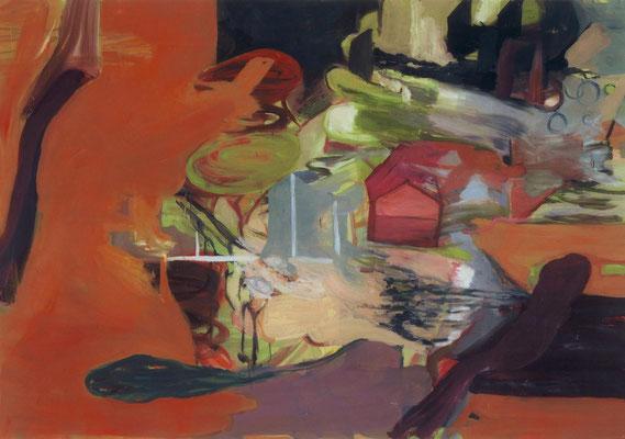 Das Haus-6, 2003, Öl auf Leinwand, 140 x 200 cm