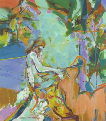 Die Heiligen-2, 2018, Öl auf Leinwand, 170 x 150 cm