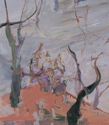 Die Philosophen-6, 2008, Öl auf Leinwand, 150 x 130 cm