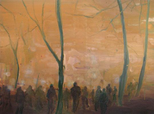 Paradiese Road, 2005, Öl auf Leinwand, 125 x 170 cm