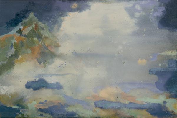Höhe, 2008, Öl auf Leinwand, 40 x 60 cm