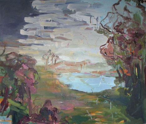 O.T., 2005, Öl auf Leinwand, 180 x 210 cm