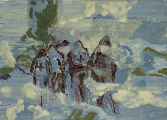 Transit, 2005, Öl auf Leinwand, 80 x 110 cm