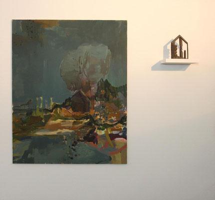 Galerie Holzhauer, mit Friedemann Grieshaber, 2011, Hamburg
