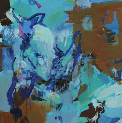 Early sound, 2018, Öl auf Leinwand, 50 x 60 cm