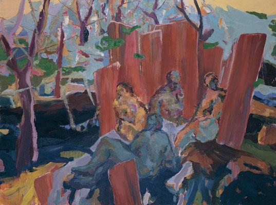 Mokita, 2007, Öl auf Leinwand, 150 x 200 cm