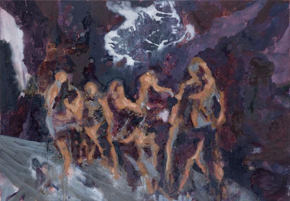 Transit-4, 2007, Öl auf Leinwand, 70 x 100 cm