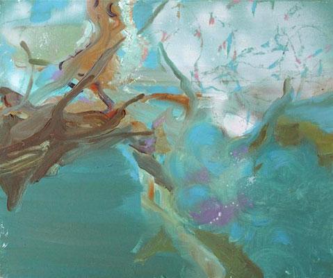 o.T., 2012, Öl auf Leinwand, 50 x 60 cm