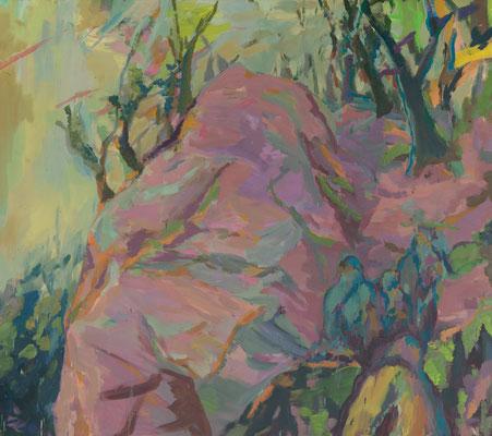 Besiedlung-1, 2008, Öl auf Leinwand, 160 x 180 cm