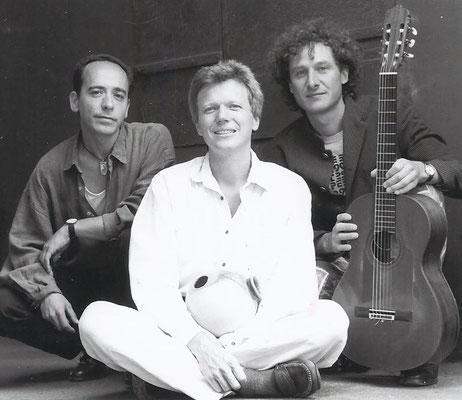 Matamá in der Ursprungsbesetzung - Juan, Conny und André (1996)