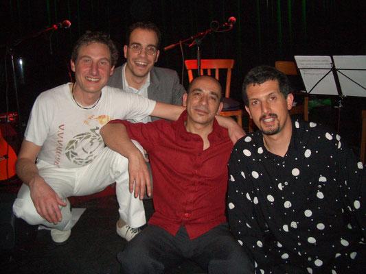 André Krikula, Martin Bentz, Juan, Bassam Salam (2005)