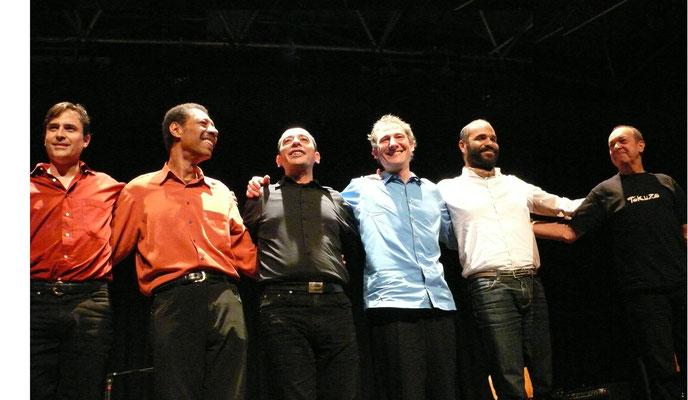 Matamá Sextett - Cesar Falcón, Cesar Ferreira, Juan, André Krikula, Pierre Romain, Fain Sanchez Dueñas | Goldbekhaus Hamburg (2012)