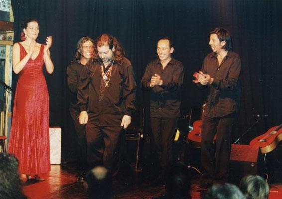 """Ana Sojor, Antonio el """"Rabia"""", Ricardo Espinosa, Juan, Gilberto Torres (2001)"""