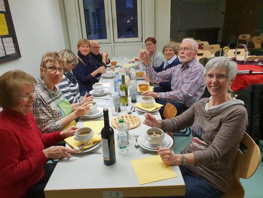 Unsere Kochgruppe