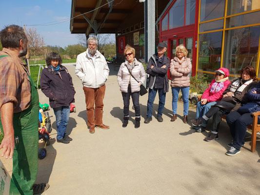 Besuch beim Biobauern in Büttgen