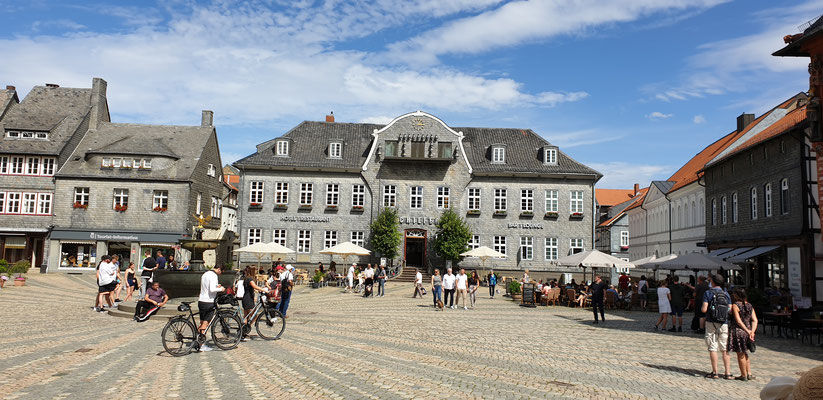 In Goslar began unsere Harzreise