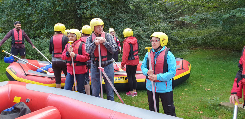 Erft/ Rhein Rafting Tour