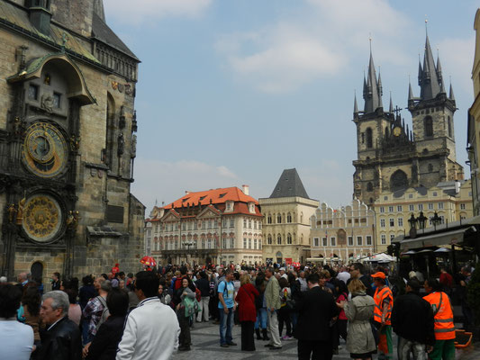In der goldenen Stadt Prag
