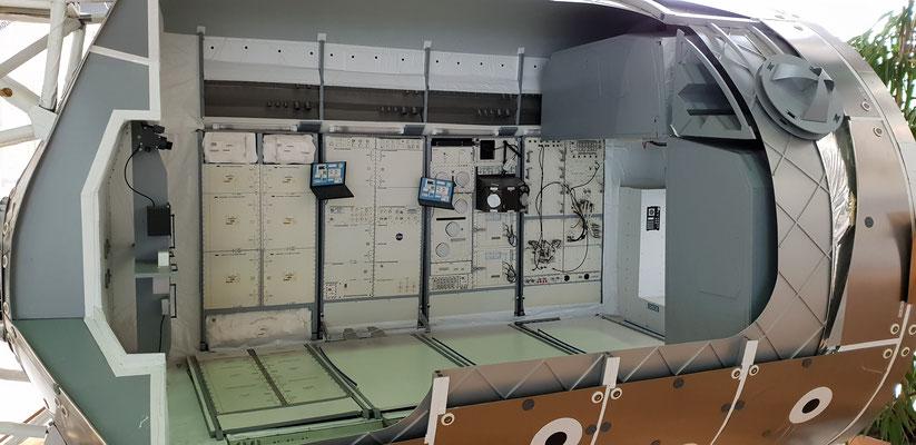 Ein Blick ins Spacelab