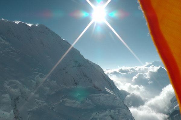 Nuptse Nordpfeiler vom Lager III am Everest © R.Dujmovits