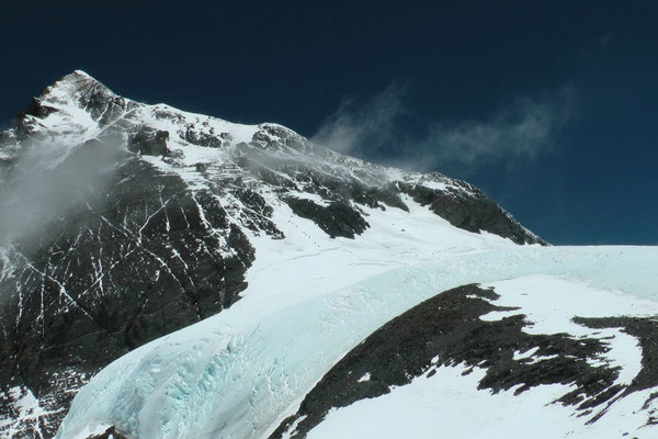 Gipfelaufbau vom Südsattel © R.Dujmovits