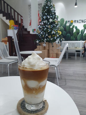 Iced Kokosnusskaffee 2€ 10/10