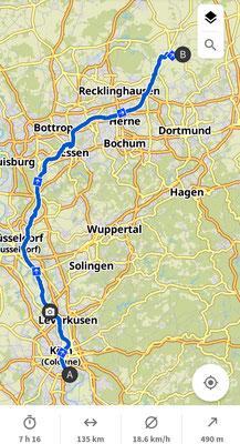 Tag 4: Rodenkirchen nach Selm