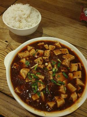 Mapo-Tofu im Hostel 1,80€ 8/10
