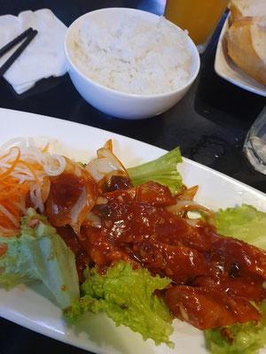 Faux-Chichen mit Tamarindsoße 3€ 7/10