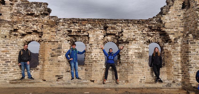 Day 11: Tagesausflug zur chinesischen Mauer gemacht & dort gewandert.