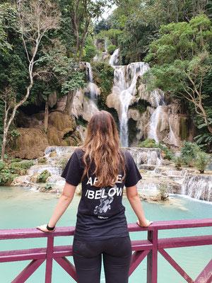 Day 8: Kuang Si Wasserfall