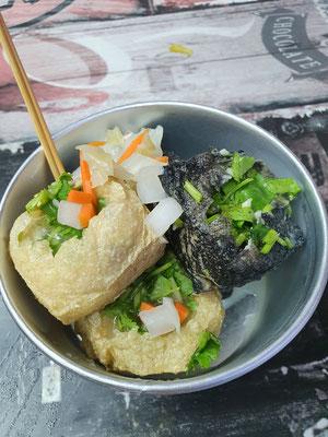 Stinky Tofu...mhmmmm... 1,80€ 8/10