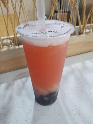 Bubble Tea (zu süß) 1,40€ 5/10